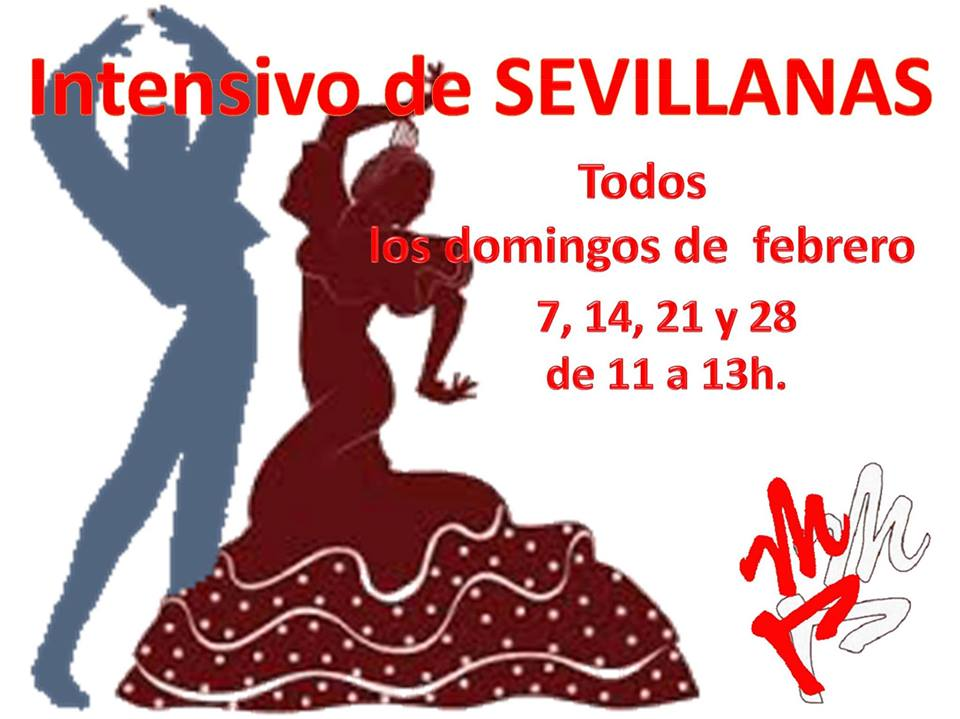 Intensivo de sevillanas 2016 for Academias de bailes de salon en madrid